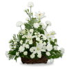 Serene Lily Basket deluxe