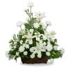 Serene Lily Basket premium