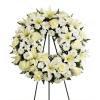 Angelic Tribute Wreath deluxe