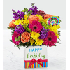 Bright Birthday Bouquet premium