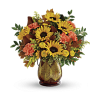 Changing Leaves Bouquet 17 deluxe