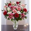 Marquis by Waterford Blushing Rose & Lily deluxe