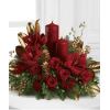 CANDLELIT CHRISTMAS CENTERPIECE 1