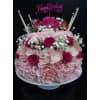 Strawberries & Cream Birthday Cake