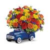 Ford Pickup Full Of Flowers