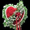Red and White Heart Tribute premium