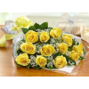WRAPPED ROSE SALE! - Yellow/Red or Orange