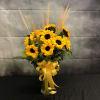 Sunny Sunflower Garden