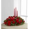 Lights Of The Season Three Candle Centerpiece standard