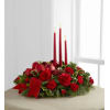 Lights Of The Season Three Candle Centerpiece deluxe