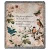 The Flowers Appear Tapestry Throw