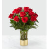 The FTD Gorgeous Red Bouquet
