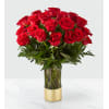 The FTD Gorgeous Red Bouquet premium