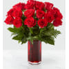 The FTD True Romantic Red Rose Bouquet premium