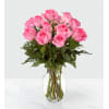 The FTD Smitten Pink Rose Bouquet standard