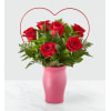 FTD Cupid's Heart Red Rose Bouquet standard