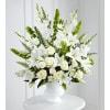 White Urn Floral Tribute premium