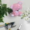 Custom Artist Design in Pink Ceramic Baby Bear