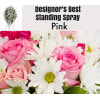 Pink Mix-Standing Spray
