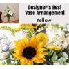 Yellow Mix-Large Vase Arrangment standard