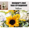 Yellow Mix-Large Vase Arrangment premium