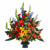 Colorful Treasured Celebration Urn