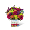 The Birthday Brights™ Bouquet by FTD at Bow River Flower Atelier premium
