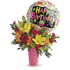 Birthday Bash Bouquet by Teleflora at Bow River Flower Atelier standard
