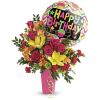 Birthday Bash Bouquet by Teleflora at Bow River Flower Atelier premium
