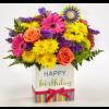 Happy Birthday Brights Bouquet premium