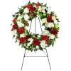 UFN Passionate Faith Sympathy Wreath