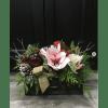 Designer Rustic Winter Container Arrangement standard