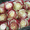 Amazing Roses One Dozen Red Glitter deluxe
