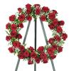 Red Roses Wreath premium