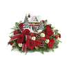 Thomas Kinkade's Hero's Welcome Bouquet 20 deluxe