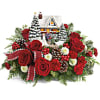 Thomas Kinkade's Homecoming Hero Bouquets deluxe