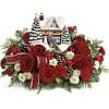 Thomas Kinkade's Homecoming Hero Bouquets premium