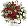 Teleflora's Christmas Mug standard