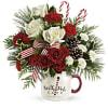 Teleflora's Christmas Mug deluxe