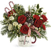 Send a Holiday Mug by Teleflora deluxe