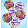 Anniversary Mylar Balloon Set premium