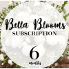 Bella Blooms (Standard) 3, 6 and 12 Month Subscription deluxe
