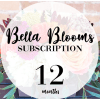 Bella Blooms (Standard) 3, 6 and 12 Month Subscription premium