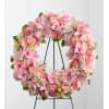 Pink Wreath by O'Flowers standard
