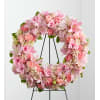 Pink Wreath by O'Flowers deluxe