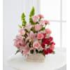 Pink Sympathy Basket by O'Flowers standard
