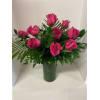Hot Pink Roses (6-18) premium