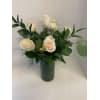 DELUXE WHITE ROSES (1/2 DOZEN, 1 DOZEN & 1.5 DOZEN) standard