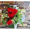 Half Dozen Wrapped Roses standard
