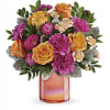 The Perfect Spring Peach Bouquet deluxe